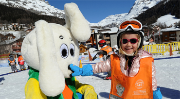 Snowli Kinderskischule in Leukerbad